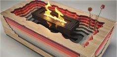 Amazing Magma Fireplace Adjustable – Decorative Functional and Stylish Coffee Table Ideas Photo