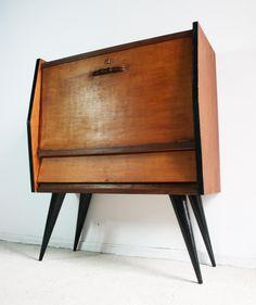 Mueble bar vintage años 60