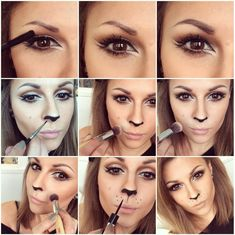 HOW TO: Lion/Cat Halloween Makeup | Beauty And The Dirt