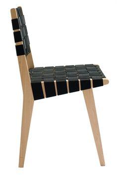 Risom Side Chair Black