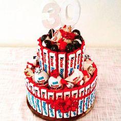 Kinderriegel-Torte zum 30. Geburtstag (© Stef Gyver)