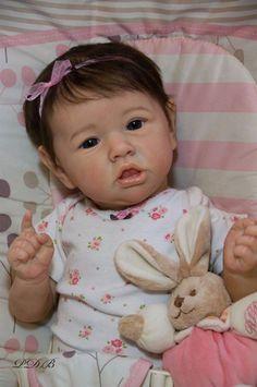 Custom Order Saskia by Bonnie Brown Reborn Doll Baby Girl