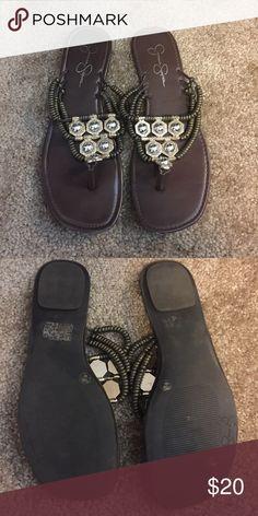 Sandals Jessica Simpson Beaded sandals Jessica Simpson Shoes Sandals