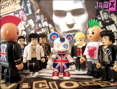 Welcome to Punk Qee  The punx warily welcomed the punk Brit Bear qee to the gang.