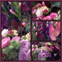 Glaïeuls et bouquet génial. Isabelle Thiessen.Artiste-Fleuriste.septembre2013.