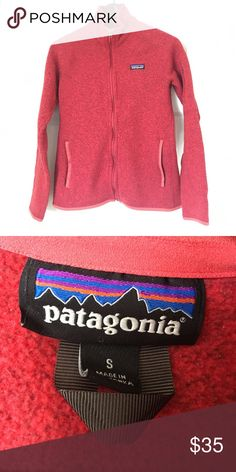 Patagonia Better Sweater - Red Size small Patagonia Better Sweater. Stay comfy and cozy in this beautiful red jacket. Good condition Patagonia Jackets & Coats