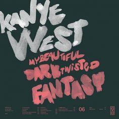 Designspiration — All sizes | 06.Kanye West - My Beautiful Dark Twisted Fantasy | Flickr - Photo Sharing!