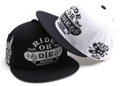 cc364490d47 Ride Die Snapback Hats Men Women Bboy Adjustable Cap Korean Fashion Style S-087   PREMIER  RideDieSnapback