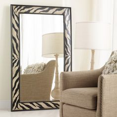 I pinned this Hooker Furniture Zebra Mirror from the Safari Chic event at Joss and Main!