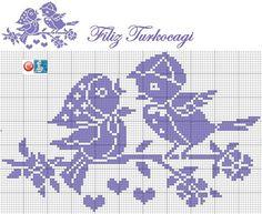 Terri Woodward's media statistics and analytics Funny Cross Stitch Patterns, Cross Stitch Designs, Cross Stitching, Cross Stitch Embroidery, Baby Booties Knitting Pattern, Crochet Sunflower, Filet Crochet Charts, Graph Design, Crochet Birds