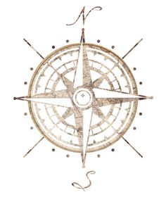 old compass print - Google Search