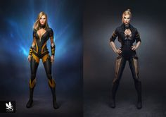 Injustice 2 has some crazy costumes, but it could've been even crazier! Join CBR as we sift through early designs for the characters in the game. Superhero Characters, Marvel Characters, Female Characters, Comic Superheroes, Superhero Suits, Superhero Fashion, Book Characters, Fantasy Characters, Marvel Comics