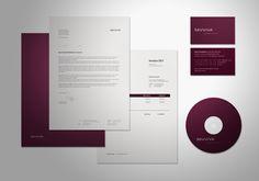Savviva Corporate Identity by Denis Olenik, via Behance