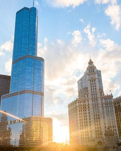 Trump Hotels, Trump International Hotel, Willis Tower, Skyscraper, Michigan, Multi Story Building, Chicago, Travel, Instagram