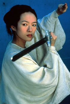 "Jen, the protagonist of the film ""Crouching Tiger, Hidden Dragon"" (2000), is a fierce, stubborn sword-wielder who eschews an arranged marriage for her true love."