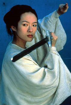 "Jen, the protagonist of the film ""Crouching Tiger, Hidden Dragon"" (2000), is a fierce, stubborn sword-wielder who eschews an arranged marriage for her true love."