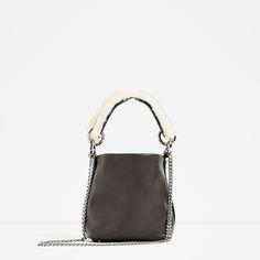 MINI CROSSBODY BAG WITH A STRAP DETAIL   Architect's Fashion