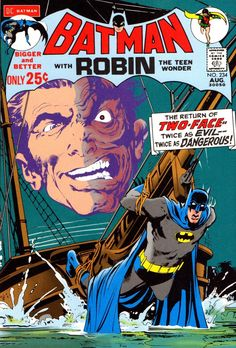 Neal Adams' Batman #234; the return of Two-Face