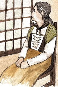 Anna Klemens (1718-1800) was a beggar in her village of Horsens, Denmark. She was the last woman lynched for sorcery in all of Scandinavia. http://historywitch.com