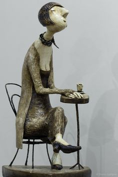 роман шустров кукла выставка бумажная душа 55 Ooak Dolls, Art Dolls, Tableaux Vivants, Marionette Puppet, Paper Mache Crafts, Realistic Dolls, Ceramic Figures, Paperclay, Little Doll
