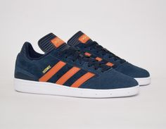 #adidas Busenitz Blue/Orange #sneakers