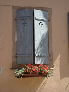 My favorite #window in Eguisheim, France. I will find a way to frame this.