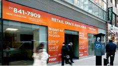 340 Madison Avenue Retail Signage