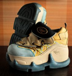 Juro Londres único Club Kid Rave Techno de los 90 zapatos zapatillas vintage clubkid chunky plataforma