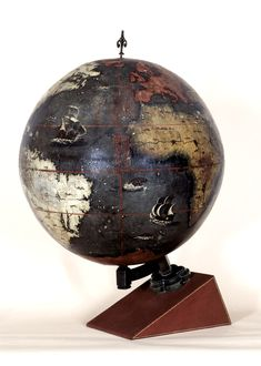 Chinese Globe, 1623   Copyright © The British Library Board