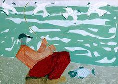 urgetocreate:  Milton Avery, Red Fisherman, 1950