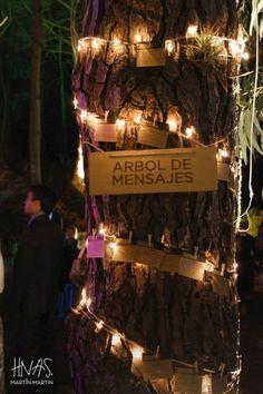 Mensajes en los árboles