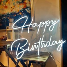 Happy Birthday Custom Party Neon Sign Acrylic Flex Led Custom | Etsy Happy Birthday Signs, 21st Birthday, Birthday Ideas, Birthday Celebration, Neon Sign Bedroom, Neon Lamp, Custom Neon Signs, Neon Light Signs, Led Signs