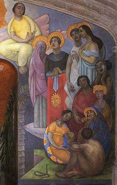 Creation 3, 1922, Diego Rivera