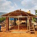 Prototipos de vivienda en bambú para Nepal, por rOOtStudio