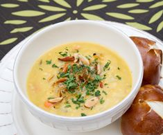 Danish Yellow Split Pea Soup. Sign-up for our weekly #meatlessmonday recipes here:  https://secure.humanesociety.org/site/SPageServer?pagename=meatlessmondaysignups_src=pin_post062614