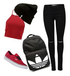 """😍"" by tilda-hedblom on Polyvore featuring Vans and adidas"