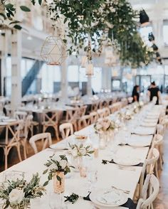 Wedding decor straight out of a fairytale.