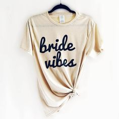 Say bye to single life and hello to married life! This bride tee makes a great addition to your wardrobe while you're planning your dream wedding! It's super soft and cozy and we guarantee you'll want