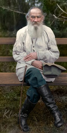 Russian History & Literature Come to Life in Wonderfully Colorized Portraits: See Photos of Tolstoy, Chekhov, the Romanovs & Leon Tolstoy, Tsar Nicolas Ii, Russian Literature, Colorized Photos, Writers And Poets, Imperial Russia, History Photos, Portrait Photo, Famous Faces
