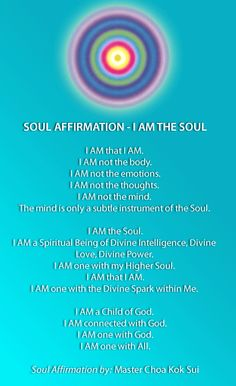 The Soul Affirmation <3