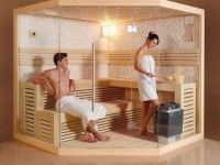 23 Luxus Saunen mit Vollausstattung - inkl.LED, Ofen, Sandsteinverkl.