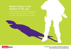 Women living in the shadow of gun violence by net_efekt, via Flickr