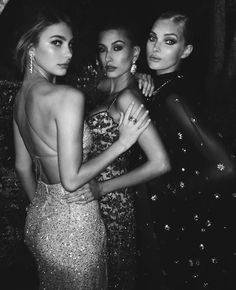 model, hailey baldwin, and elsa hosk image
