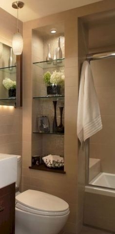 57 Awesome Small Bathroom Remodel Ideas