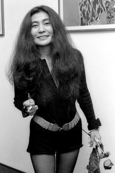 I dont care about what anyone says, I love Yoko Ono, shes my favorite beatle wife. (So true! I've loved Yoko ever since I loved The Beatles! She was my first favorite Beatles girl!)