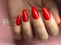 Nails red