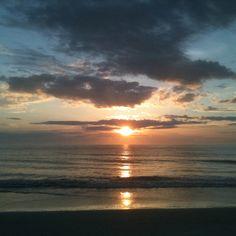 Just after sunrise ... Jacksonville Beach Florida