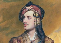 Art History's Best Mustaches: Thomas Phillips's Orientalist 1835 Portrait of Lord Byron