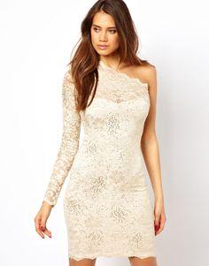 Lipsy One Shoulder Lace Dress (870×1110)  http://video.asos-media.com/CatwalkShots/2802600-4-130409125217.flv