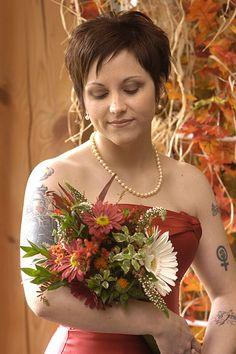 short pixie cut #wedding #hair
